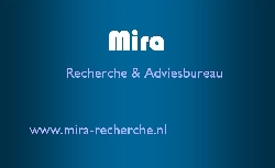 Afbeelding › Mira recherche & adviesbureau